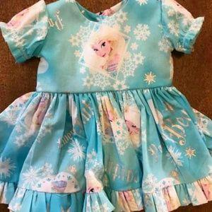 Other - Handmade Americal Girl Frozen Dress
